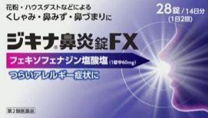 ジキナ鼻炎錠FX